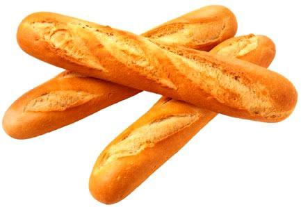 Làm trắng răng bằng bánh mì.