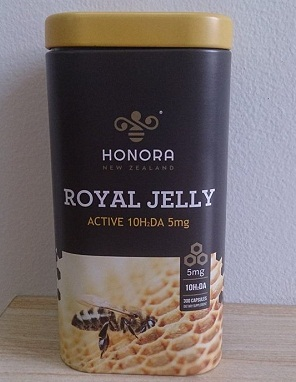 Sữa ong chúa Honora Royal Jelly New Zealand