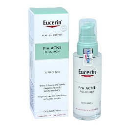 Serum trị mụn Eucerin Acne Oil Control ProACNE Solution Super Serum