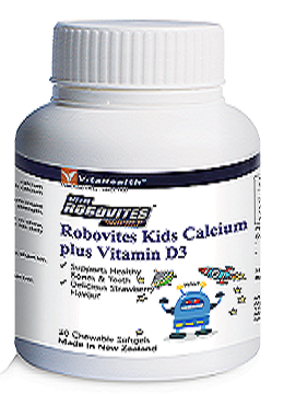 VitaHealth Robovites Kids Calcium Plus Vitamin D3