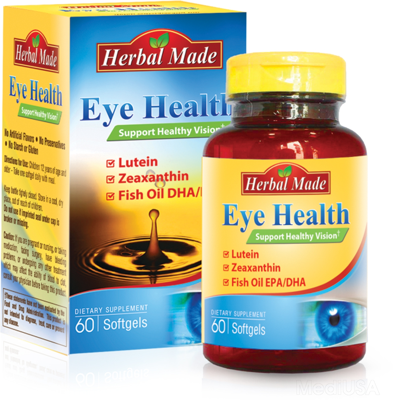 Viên nang mềm Herbal Made Eye Health