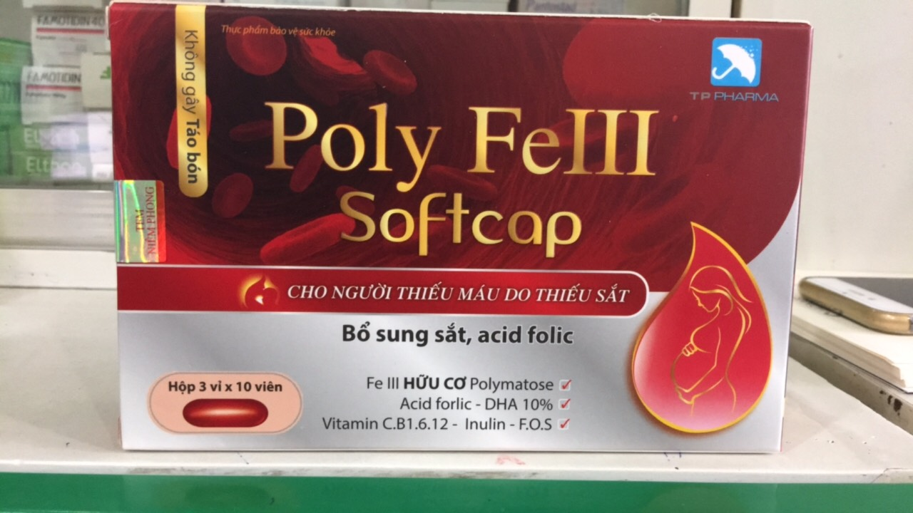 Poly FeIII Softcap