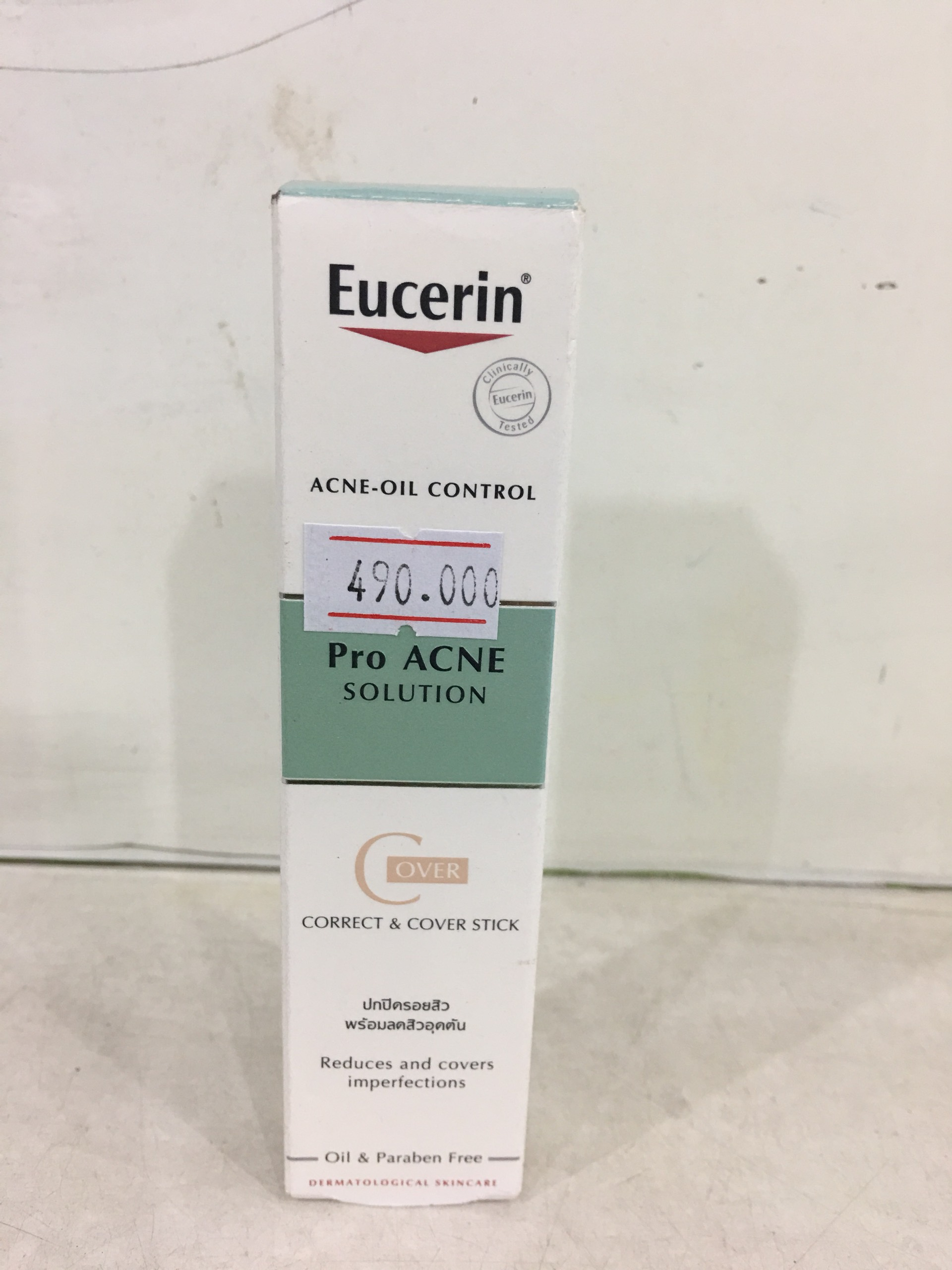 Kem che khuyết điểm Eucerin Acne Oil Control ProAcne Solution Correct & Cover Stick