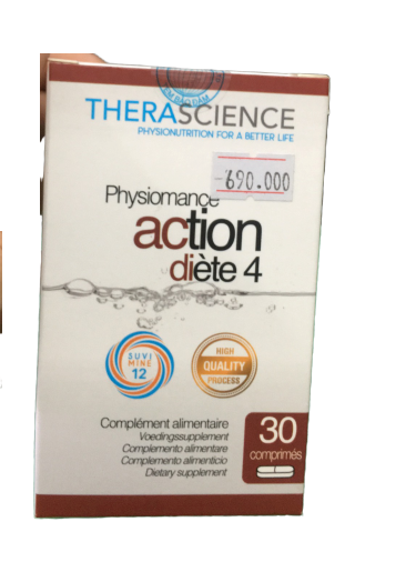Viên giảm cân Therascience Physiomance Action Diete 4